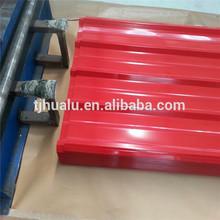 prepainted corrugated steel sheet from Hualu, China