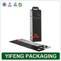 Luxury Custom Wine Carrier Box cardboard , personalized Wine Box