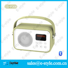 2014 new China Alibaba colorful leather subwoofer spider with handle FM USB TF card and microphone