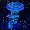 chandelier decorative fiber optic pendant lights