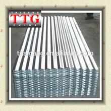 (TTG)zinc corrugated roofing sheet/corrugated roof price 2