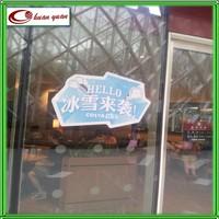 waterproof window stickers/plastic decal/custom decal