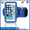 Armband running case with key and earpod hole for iphone 6