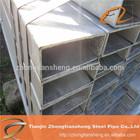 ERW Hollow Section Rectangular Galvanized Steel Tube / rectangular hollow section weight