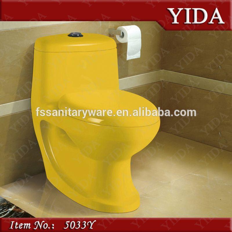 새로운 디자인 색상 화장실 화장실, 욕실 컬러 화장실, 장식 변기 ...