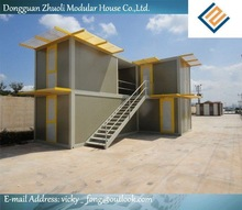 Modular prefab home kit price,low cost modular container restaurant