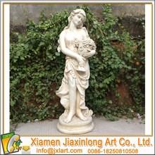 outdoor garden decoration fiberglass statue