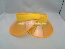 2015 new pvc visors knitted men's caps with visor