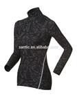 Santic woman custom compression jacket OEM service