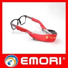 Hot sales comfortable colorful ski sunglasses neck strap