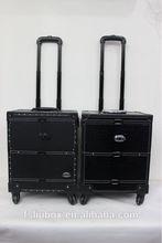 Croco PVC Aluminum makeup cases