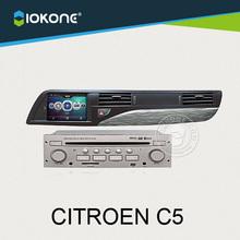 "7"" in dash car DVD radio player GPS navigation with reversing camera for Citroen C5"
