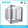 outdoor welded panel hot dip galvanized aluminum dog cage