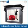 Flintstone 19 inch heavy duty industry grade LCD digital signage player, Bus LCD Hot Video Player