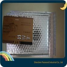 #0 Aluminum padded bubble envelope/ silver foil bubble bags