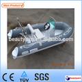 10ft de fibra de vidro v profundo costela pequeno de fibra de vidro barco de pesca
