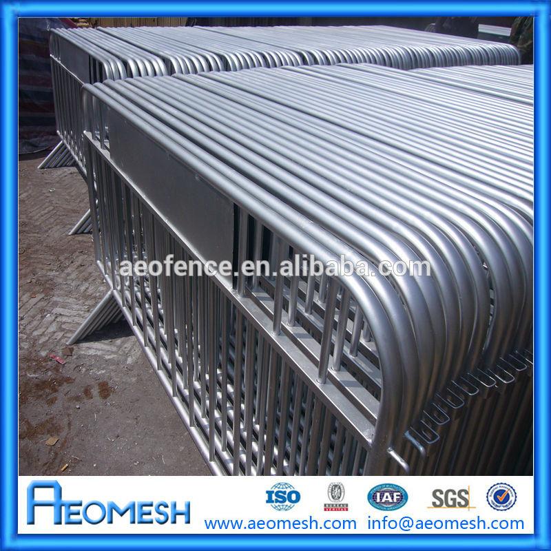 Galvanizado segurança barreira da estrada / temporary guard rail / modelos de portões e cerca de ferro