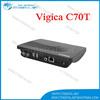 Newest Android DVB-T2 TV BOX Vigica c70t Media Player Amlogic 8726MX AV WiFi Smart google box Russia DVB T2 Receiver