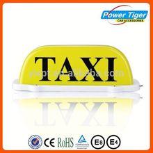 Hot sale 12V LED magnetic taxi dome