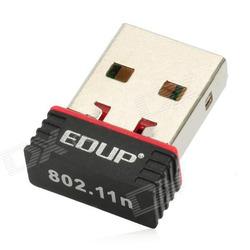 EDUP Ultra-Mini Nano USB 2.0 802.11n 150Mbps Wifi/WLAN Wireless Network Adapter