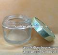 70ml claro cosméticos frasco de vidro com tampa de plástico para o creme facial