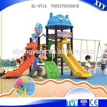 Popular outdoor playground happy castle toy