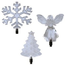 Acrylic Clear Winter Solar Light christmas decorations gifts