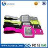 Soft reflective leather sport armband for iphone6 ,smartphone armband