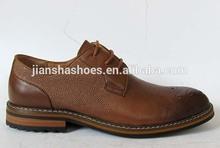 Italian design men leather dress shoes wholesale fashion rubble sole oxford shoes