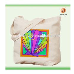high quality customized eco canvas bag /canvas shopping bag/canvas tote bag