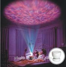 Ocean Wave mini LED Projector Lamp,Night Light Projector,Romantic Night Lamp FC90106