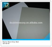 grey back duplex board in sheet