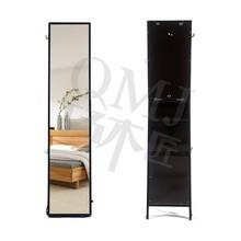 Over the door wall mount bedroom Mirror Jewelry Storage Cabinet Organizer