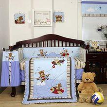 Baby Aviator 8-Piece Crib Bedding