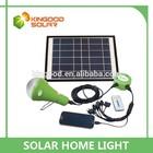 12v/2600mah battery solar led light bulb for home with mobile charging function