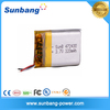 Wholesales rechargeable li-ion polymer battery 3.7V 320mAh for GPS MP3 MP4 DVD