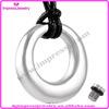 IJD8390 alibaba fashion high quality CZ jewelry hollow round pet cremation urn jewelry