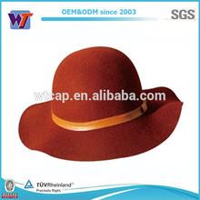 High quality woman wool felt hat,wool hat,women hat