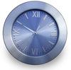 metal wall clock aluminium clock special dial design CE&Rohs