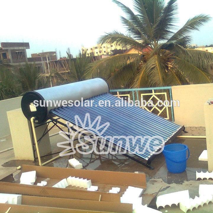 Boiler Solar Mexico Haining Sunwe Solar Boiler