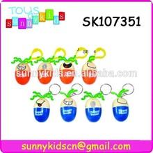 colorful mini egg shape cute pen for children