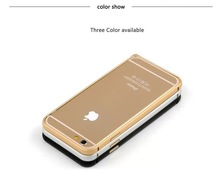 Hot selling luxury aluminum cover for iPhone 6 metal bumper case