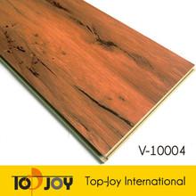 Indoor Wood Grain Click Planks Vinyl WPC Flooring