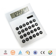 Hairong High Quality 8 Digit Desktop Solar Calculator