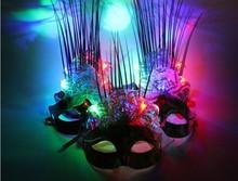 China Manufactory PVC Plastic LED Party Mask Wholesale