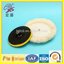 All Kinds Pure 100% lamb wool car buffing and polishing pad Factory