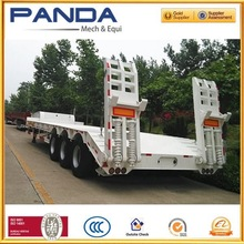 New high quality low bed trailer for sale with big equipment