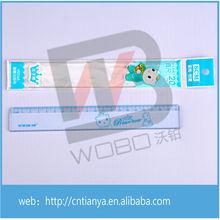 Factory direct sale transparent Durable Plastic 20cm scale Ruler