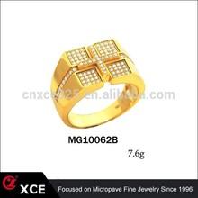 925 sterling silver cross gold ring design for men wedding ring