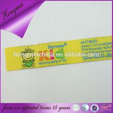 Factory outlet custom fake designer kid care label